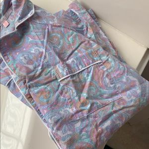 Victoria Secret Paisley Pajama Top